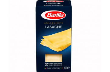 Barilla lasagne without eggs 500g