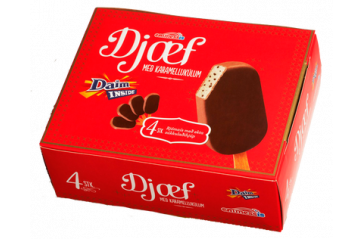 Emmess Djæf Daim Ice cream 4pc