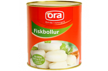 Ora fish balls 1/2 can