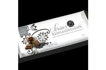 Nói milk chocolate with salt licurice and sea salt 140g