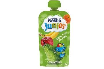 Nestle Junior Skvísur Banana/Epla 110g