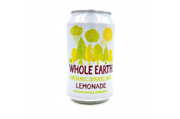 Whole Earth Lemonade soda 330ml