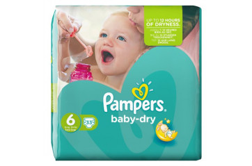 Pampers Baby Dry (15+ kg) 33 pc