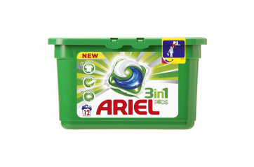 Ariel washing Pillows White.3in1 12stk.