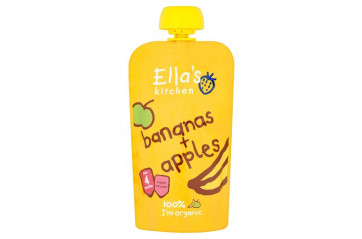 Ellas Apples and Bananas 120g
