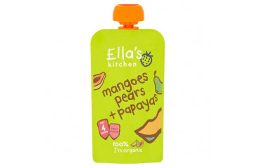 Ellas mango, papaya & pear 120g