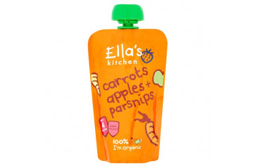 Ellas Apple Carrots and Parsnips 120g