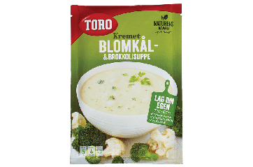 Toro Cauliflower & Broccoli soup 62g