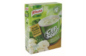 Knorr Cup Soup 3pack Cauliflower and broccoli