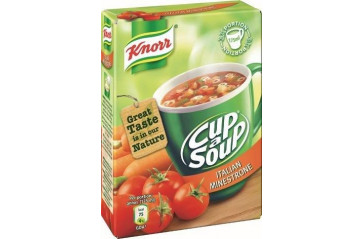 Knorr Cup Soup Minestrone 3pack