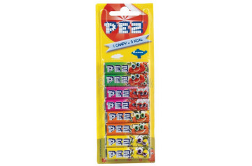 Pez filling Mixed types 8stk