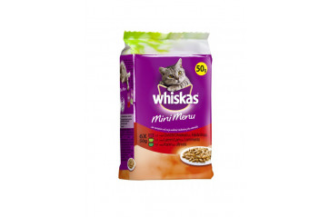 Whiskas Mini dark meat 6x50g