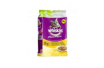 Whiskas Mini White meat 6x50g