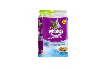 Whiskas Mini Fish 6x50g