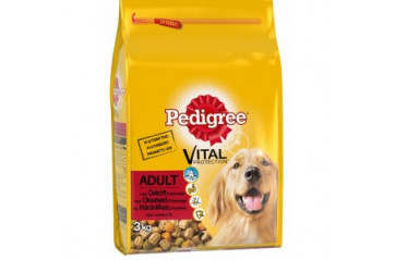 Pedigree Adult Beef 3kg