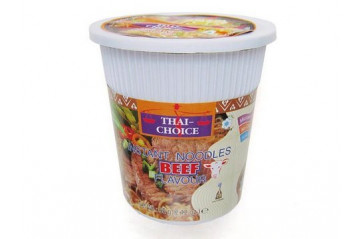 Thai Choice Cup Noodles Beef 60g