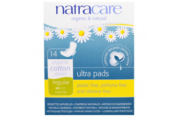 Natracare UL wings pads 14pc