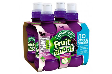 Fruit Shoot 4pk Apple / blackcurrant 200ml