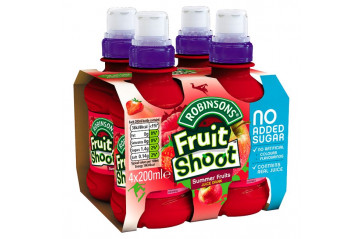 Fruit Shoot 4pk Some Fruits 200ml