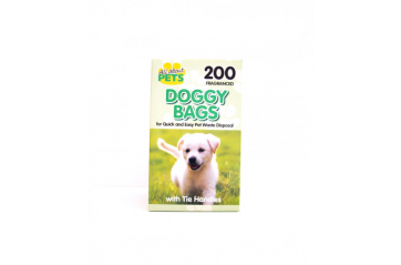 Doggy poop bags with aroma 200pc small