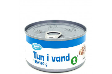X-tra Tuna in water 185 gr