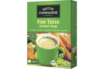 Natur Co vegetable cup soup 3x18g