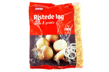 Coop Fried onions 200 gr bag