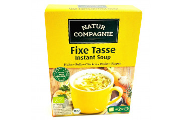 Natur Co chicken cup soup 2x17g