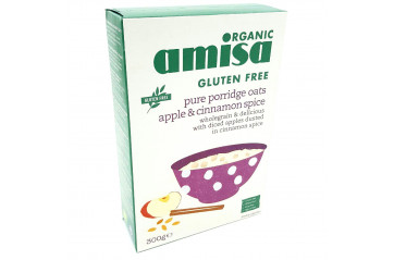 Amisa oatmeal with apples and cinamon 300g