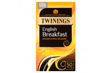 Twinings English breakfast 50ps