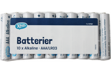 X-tra Batteries AAA 10s