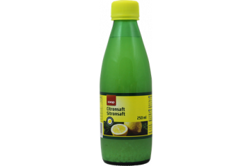 Coop Lemon Juice 250 ml
