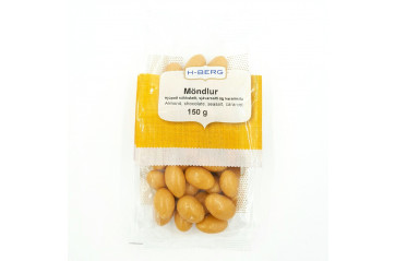 H-Berg almonds with caramel and salt 150g