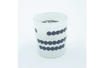Spaas candle dots in a jar