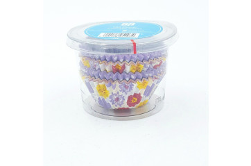 Cp Muffin form (cupcake) flower pattern 100 pcs
