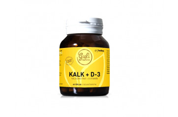 Guli M Calcium+D3 vitamin tablets 60stk