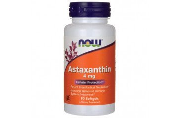 NOW astaxanthin 4mg capsules