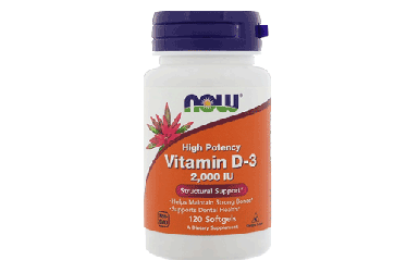 Now D 2000 120 softgels