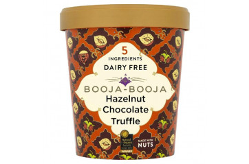 Booja Booja Hazelnut Chocolate Truffle Vegan Ice cream 0,5L