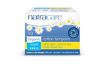 Natracare tampons super 10pc