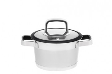 Maku Steel pot1,6L with lid