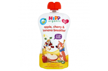 Hipp pouch cherry, apple, banana 100g