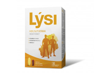 Lýsi healthy two does 32 doses
