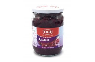 Ora Red cabbage 580g.gl.