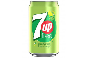 Seven-Up Sugarfree can 33cl
