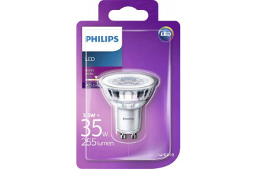 Phil.LED 35W Gu10 ww 230V 36d ódimmanleg