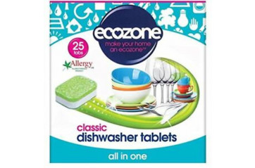 Ecozone dishwashing tables 25pc