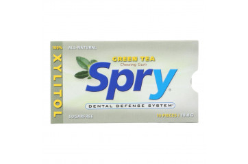 Spry Tyggjó Green tea 20x10g