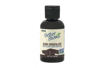 Now Stevia Dark chocolate 59 ml