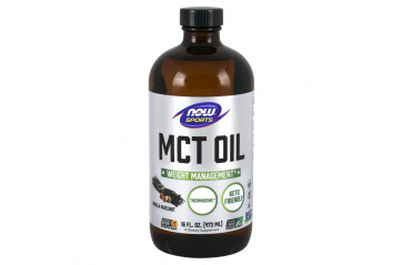 NOW MCT 100% Oil Vanilla Hazelnut 473ml